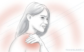 calcific tendonitis and severe shoulder pain