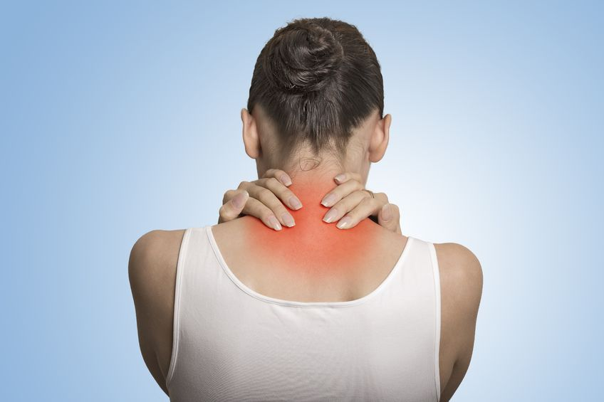 neck pain and frozen shoulder