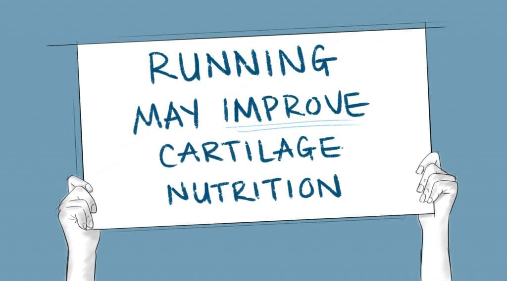 running improves the health of cartilage
