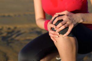 burning knee pain runner