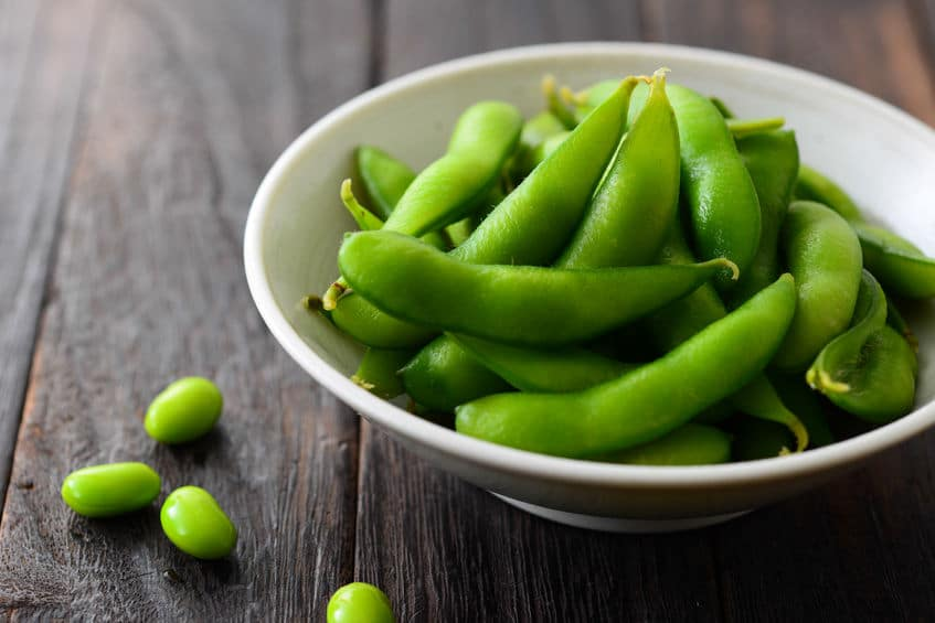 edamame as a protein source