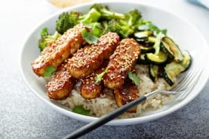 tempeh as a protein source