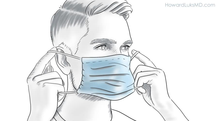 Wear mask at all times to prevent COVID
