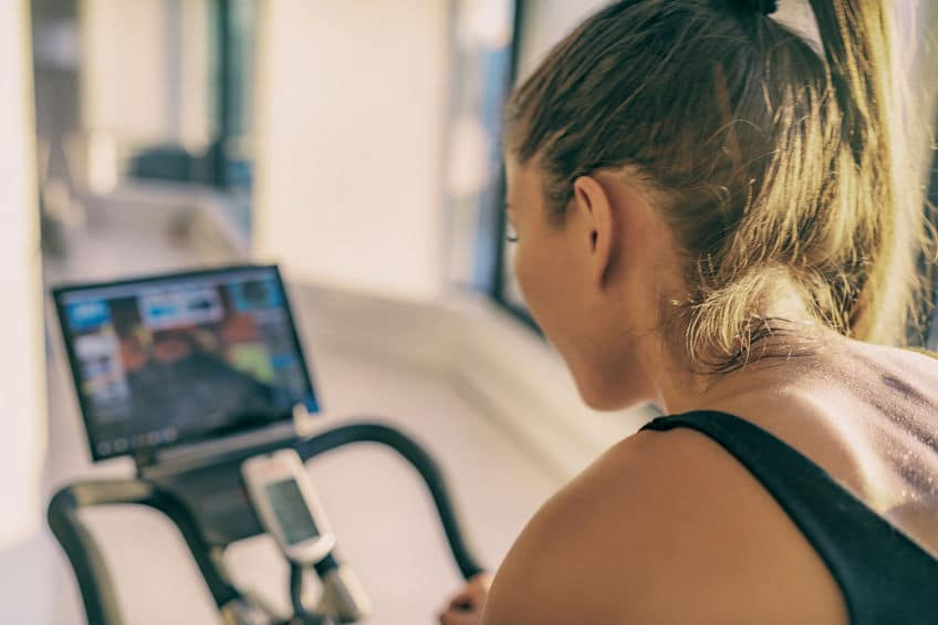 Metabolic health and zone 2 heart rate training on a bike