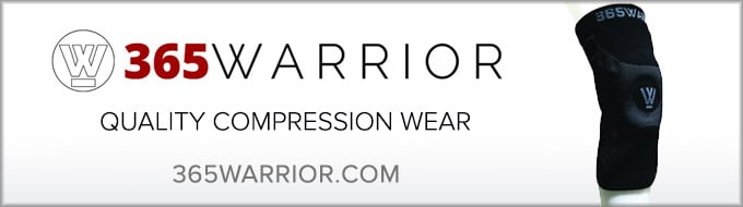 365warrior compression knee sleeves