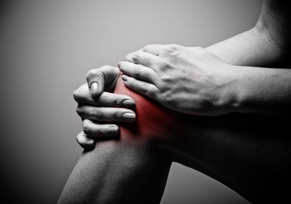 burning knee pain