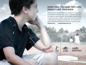 Overuse pitching elbow injuries